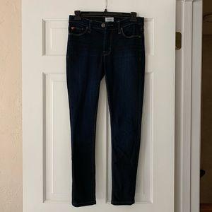 Hudson Nico mid rise super skinny Jean - size 25
